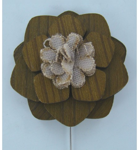 Broche alfiler 'Lirio'